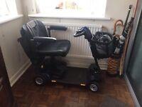 Lightweight mobility scooter. Middleton sightseer.