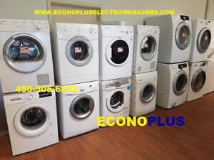 ECONOPLUS LIQUIDATION ENSEMBLE LAVEUSE SECHEUSE   FRONTAL TAXES INCLUSE