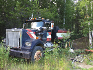 1981 Western Star Dump Truck For Parts