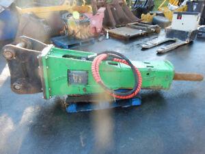 Indeco HP 4000 16-35 Ton Excavator Rock Concrete Breaker Hammer
