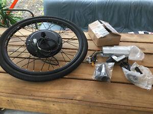 "24"" rim 48v 1000w front wheel hub motor kit"