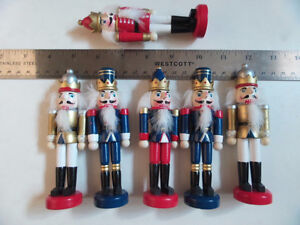 Decorative Nutcrackers (lot of 6) Kingston Kingston Area image 4