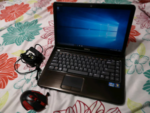 Dell inspiron 14z like new! Intel core i5,wireless gaming mouse