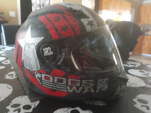 Speed and strength motorcycle helmet