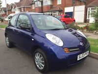 NISSAN MICRA LONG MOT EXCELLENT FOR FIRST TIME BUYERS
