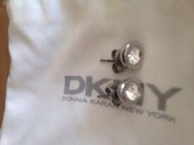 DKNY Stainless Steel Earrings