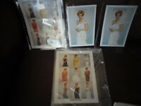 Mint Brand New Princess Diana Stamps