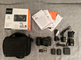 Sony A6000 camera and kit. Used - Like New