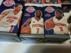 DETROIT PISTONS BOBBLEHEADS AND ORNAMENTS,$80 FOR ALL 8 Windsor Region Ontario image 4