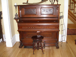 Pump Organ made by D. W. Karn & Co.