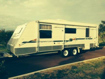 2008 Supreme Terratory Semi Off Road Caravan