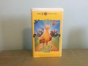 "Sesame Street ""Follow That Bird"" VHS"