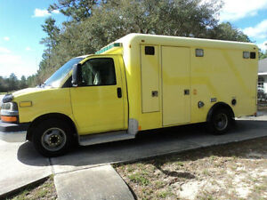2008 Chevrolet  Used Ambulance  Must Sell   $7500