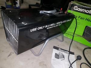 Portable gas heater / blower , gas mate lpg
