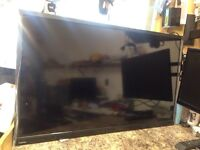 Toshiba 40l345 smart TVs with wall mounted but no remote