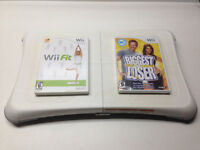 Nintendo Wii Fit Board with 2 Fitness Games