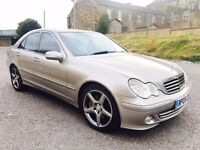 Mercedes Benz C200 CDI Avantgarde Low Mileage Full Leather Pack SWAP PX WELCOME