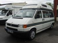 1998 Autosleepers Topaz Hi Top Camper 2 Berth Volkswagen 2.4 Diesel
