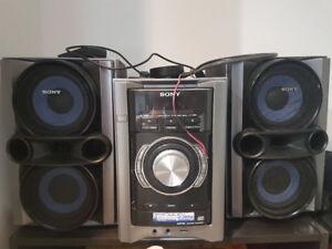 Sony Hi-Fi Speaker System (MHC-EC78P)