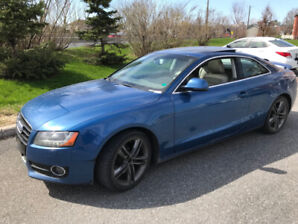 2009 Audi A5 2dr Cpe, 8 rims and tires, 158K km, A1