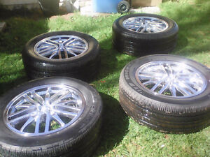5 BIG TIRES & RIMS , FACTORY MADE SPECIAL ORDER: