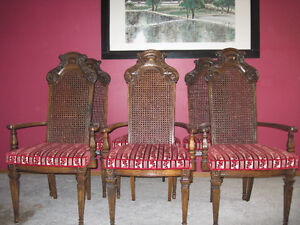 Re upholstery  Antique Sofa and Chair Strathcona County Edmonton Area image 4