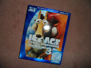 Ice Age: Dawn of the Dinosaurs 3D Blu-ray combo (New & sealed)