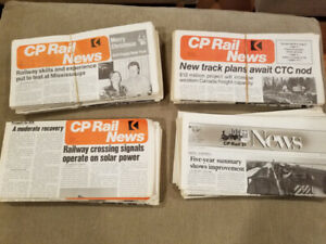 CP Rail Newspapers from 1976-1986