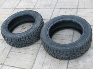 "2 USED 16"" HANKOOK WINTER TIRE I-PIKE 7-8/32 GOOD CONDITION"