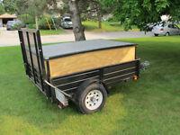 4'x6' Utility trailer