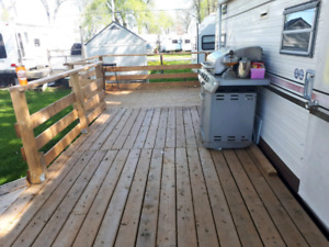 Large deck for sale