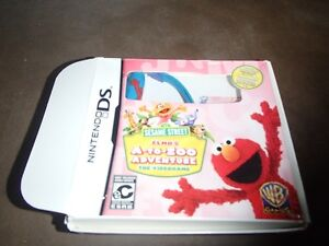 ELMO'S A-Z DS GAME WITH PEN