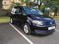 2012 (61) VW Touran 1.6 TDI SE / 49k FSH / Bluetooth / 12 months MOT / 3 month warranty / immaculate
