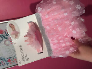 Baby girl photo prop