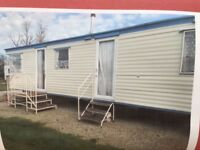 3 Bedroom caravan for hire in Bude Cornwall