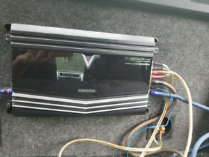 1000W Kenwood Amp Max 2000