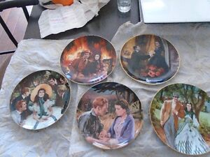 Gone With The Wind, Golden Anniversary Plate series