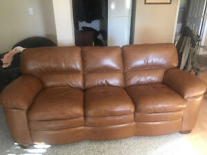 Lazy boy Leather Couch