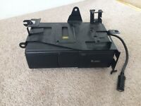 Six disc in car CD changer, with brackets