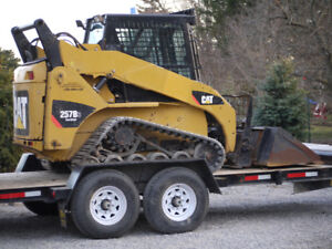Skid Steer and Excavator Services