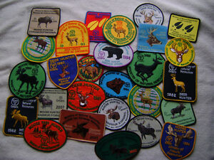 WANTED TO TRADE,BUY,SELL deer,bear,moose, hunting patches,lures