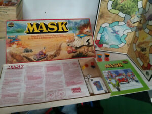 1985 M.A.S.K. Raid and Rescue game Missing 1 Rhino card