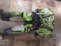 Wulf motocross suit