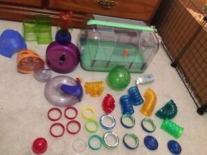 Hamster/girbil/mouse etc cage and accessories