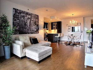Modern condo downtown furnished with rooftop pool and gym 1650$