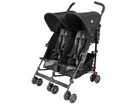McLaren TWIN pushchair, hardly used, with all accessories perfect conditions - almost new