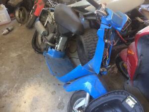 3 oldhonda 50 cc scooters for whole or parts,