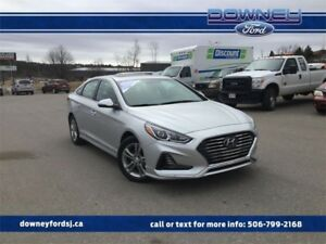 2018 Hyundai Sonata LimitedHTD/PWRED SEATS, BACK UP CAMERA