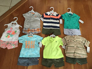 New! Carters 2 piece sets size 3momths