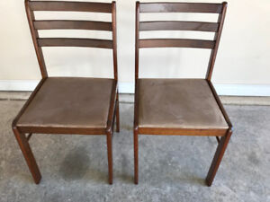 TWO BRAND NEW DINING CHAIRS